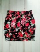 Spódnica kwiaty plisy SM...