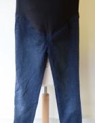 Tregginsy Jeans Dzins H&M Mama Rurki S 36 Ciążowe...