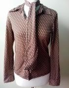 bluzka CASTRO z szaliczkiem