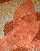 Pomarańczowy rudy szaliczek