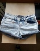 Jeansowe szorty krótkie spodenki