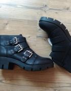 New look nowe czarne botki rozmiar 38