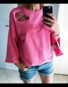 Bluza kolorowe hafty s