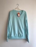Turkusowa cienka bluza Carry L
