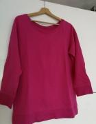 Bluza różowa fuksja rozm L XL