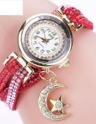 Zegarek damski z zawieszką