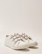 Sneakersy z ozdobnym zapięciem House perły perełki 38