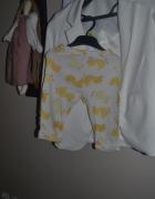 Carters Spodnie do spania kaczuszki 12mc 1 2 latka