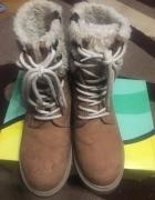 Buty zimowe skórzane Lasocki 37