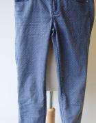 Spodnie Gina Tricot W28 Jeans Groszki Rurki Abbey