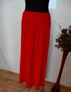 czerwona maxi spódnica...