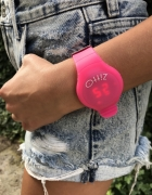 zitto grande frutti swatch zegarek fluo pink róż data