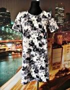 george sukienka pikowana kwiaty pastelowa hit 38 M