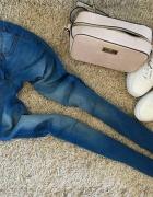 Cudne rureczki jeans hit wysoki stan