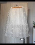Tally Weijl nowa tiulowa spódnica tiul groszki kropki rozkloszowana tutu