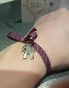 Nowa śliwkowa bransoletka Lilou