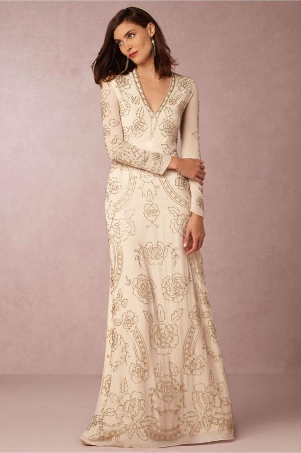 Asos maxi cekiny sukienka bordowa w Suknie i sukienki