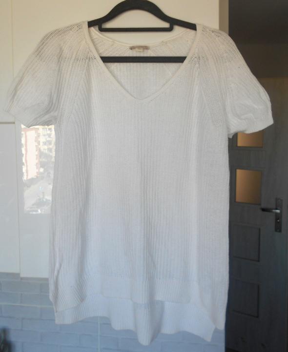 Gap biały sweter bluzeczka minimalizm oversize...