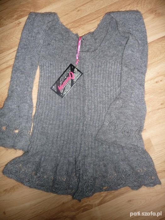 Nowy sweterek bolerko wloskie gratis...