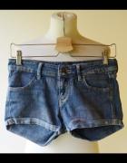 Spodenki Jeansowe Dzins H&M XS 34 Shorts Jeans