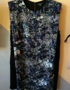 sukienka kwiaty wzory warehouse 40