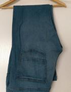 Męskie spodnie jeansy dżinsy XL niebieskie jasne...