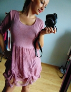 Różowa sukienka Millenium L XL 40 42