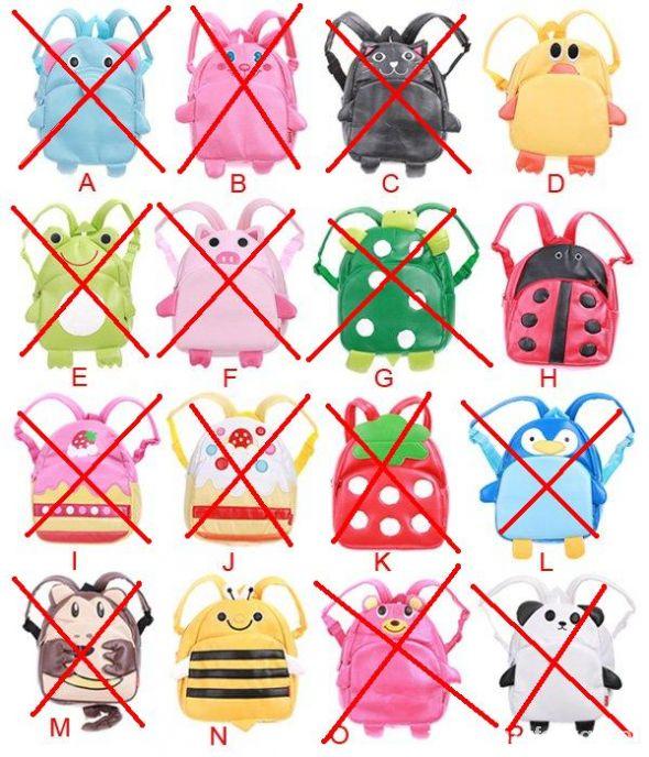 Plecaki szkolne zwierzątka do wyboru NOWE