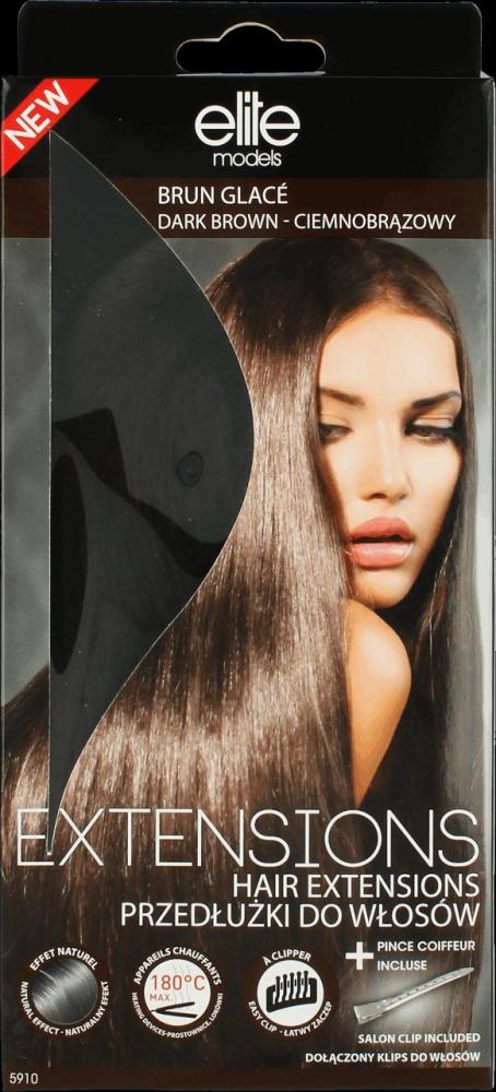 Przedłużki do włosów Elite Model Look Ciemny Brąz...
