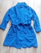 CHEROKEE niebieski polarowy szlafrok dziecięcy 110...