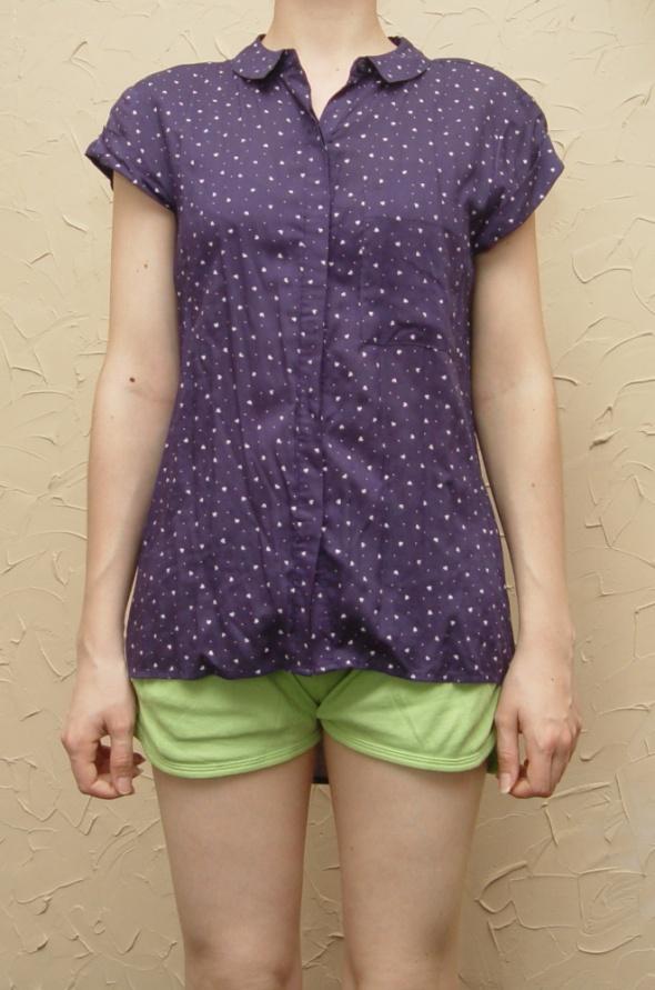 Nowa Koszula w serduszka Rozmiar 36 C&A