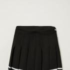 Krótka spódnica z zakładkami