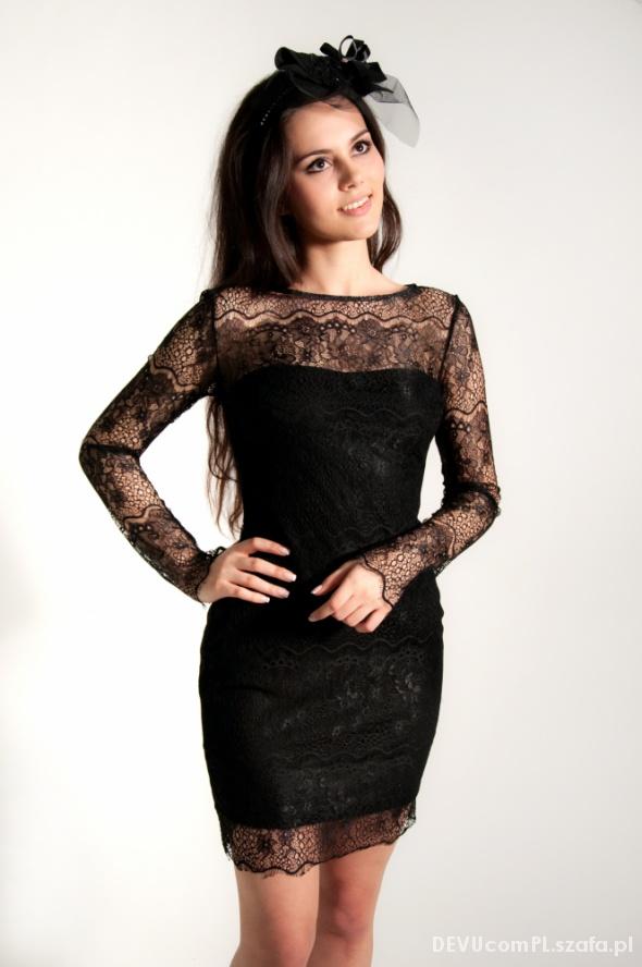Suknie i sukienki Delikatna suknia z koronki Gosi Baczyńskiej