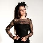 Delikatna suknia z koronki Gosi Baczyńskiej