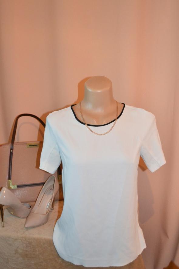 Elegancka biała bluzka ZARA