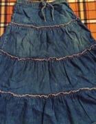 Dżinsowa długa spódnica...
