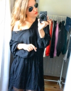 Sukienka czarna boho