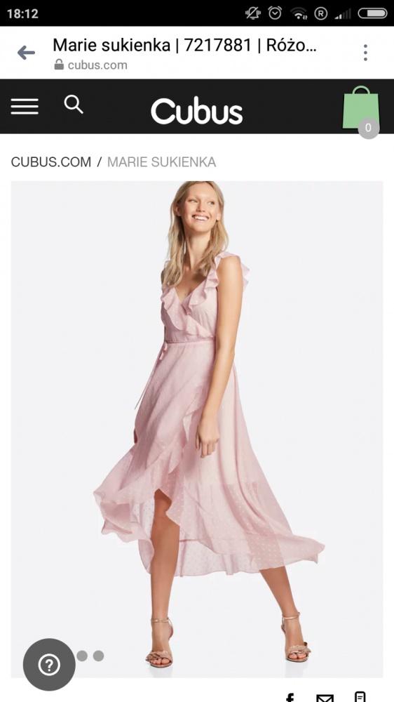 Ubrania Sukienka Cubus Marie