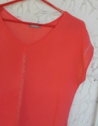 Bluzka neonowa Orsay XS mgiełka