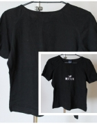 Czarny T shirt mustang...