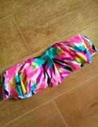 Reserved biustonosz kąpielowy bikini 40 falbana s...