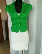 Sukienka z żakietem zielona 36 s Częstochowa