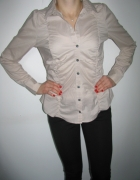 Koszula z kołnierzykiem H&M w kolorze pudrowego różu...