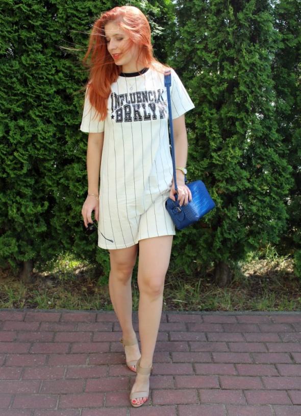 Blogerek Bejsboloa sukienka