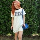Bejsboloa sukienka