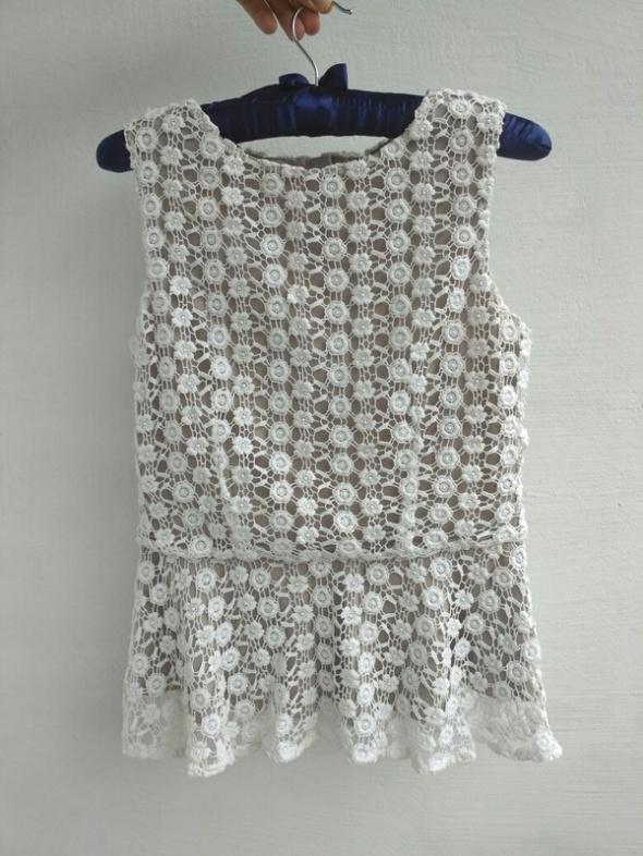 bluzka orsay koronkowa XS 34