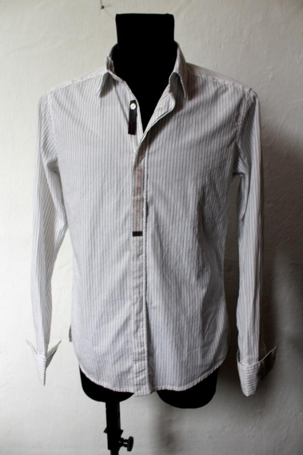 Męska koszula w prążki Esprit r L...