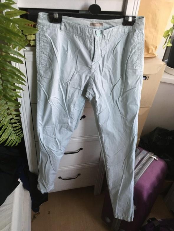spodnie miętowe Orsay 38...