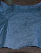 Dżinsowa krótka spódniczka...