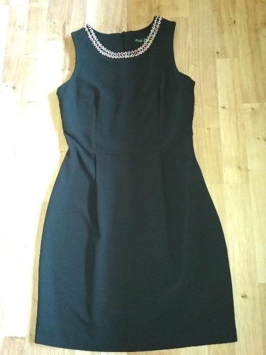 Nowa czarna sukienka pretty girl 38 M wesele...